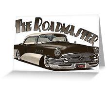 1955 Buick Roadmaster - Black 2 Greeting Card