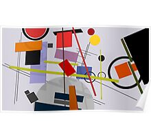 Abstract composition 238 Poster
