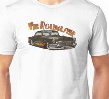 1956 Buick Roadmaster - Black 4 Unisex T-Shirt