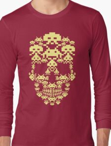 ARCADE SKULL Long Sleeve T-Shirt