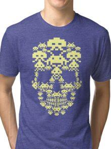 ARCADE SKULL Tri-blend T-Shirt