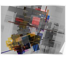 Abstract composition 255 Poster