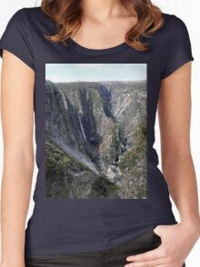 Wollomombi Gorge Women's Fitted Scoop T-Shirt