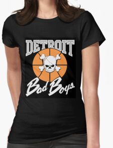 The Detroit Bad Boys (Pistons) Womens Fitted T-Shirt