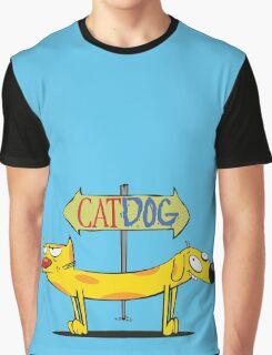 CatDog Graphic T-Shirt