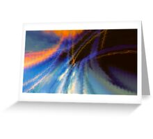 Abstract composition 287 Greeting Card
