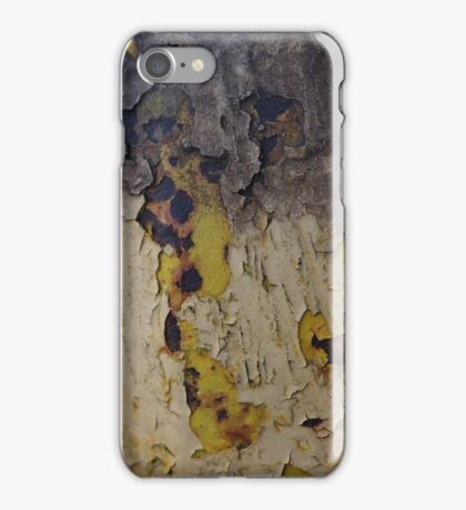 Peeling Paint Abstract iPhone Case/Skin