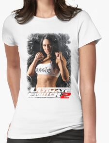 FIGHTING GIRL Womens Fitted T-Shirt