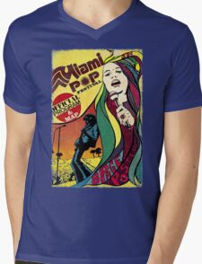 MIAMI POP FESTIVAL CLASSIC POSTER Mens V-Neck T-Shirt