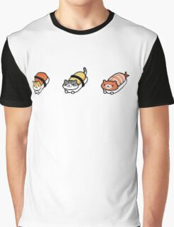 Sushi cat Graphic T-Shirt