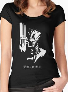 Trigun White Women's Fitted Scoop T-Shirt