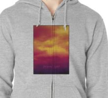 Turn Back! Zipped Hoodie