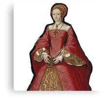 Young Queen Elizabeth I Canvas Print