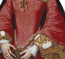 Young Queen Elizabeth I Sticker