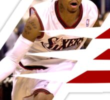 Iverson The Answer Sticker