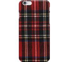 Red Plaid iPhone Case/Skin