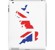 United Kingdom map iPad Case/Skin