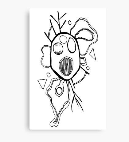 Fried Brains Canvas Print