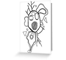 Fried Brains Greeting Card