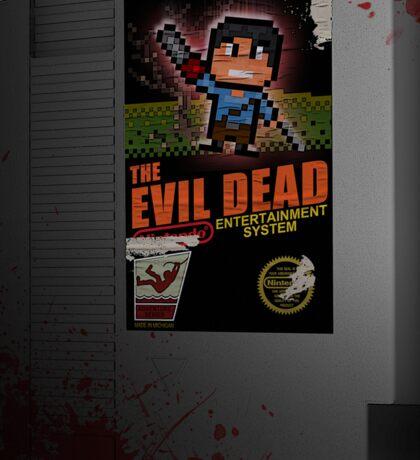 Evil Dead NES Sticker