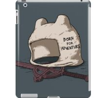 Born for Adventure iPad Case/Skin