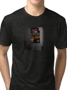 Evil Dead NES Tri-blend T-Shirt