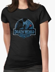 Death World Womens Fitted T-Shirt