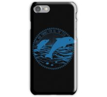 Message from Dolphins iPhone Case/Skin