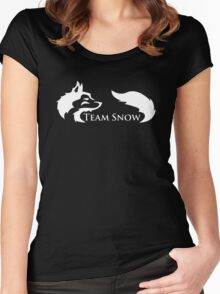 Team Snow Women's Fitted Scoop T-Shirt