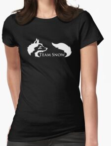 Team Snow Womens Fitted T-Shirt