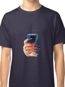 Glass of red wine Classic T-Shirt