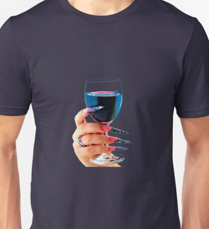 Glass of red wine Unisex T-Shirt