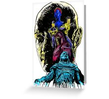 At War With A God: Apocalypse Greeting Card