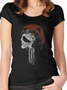 Punished By The Law Women's Fitted Scoop T-Shirt