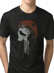 Punished By The Law Tri-blend T-Shirt