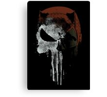 Punished By The Law Canvas Print