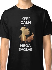 Keep Calm and MegaEvolve! AMPHAROS! Classic T-Shirt