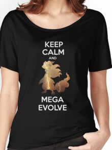 Keep Calm and MegaEvolve! AMPHAROS! Women's Relaxed Fit T-Shirt