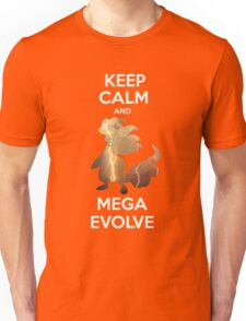 Keep Calm and MegaEvolve! AMPHAROS! Unisex T-Shirt