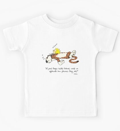 Calvin And Hobbes Quote Kids Tee