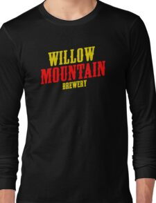 Willow mountain brewery Long Sleeve T-Shirt