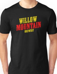 Willow mountain brewery Unisex T-Shirt