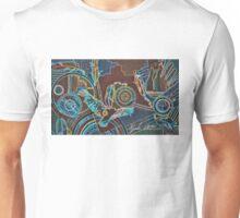 Neon Eagle Design Unisex T-Shirt