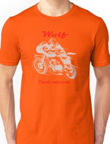 Wolf Classic caferacer Unisex T-Shirt