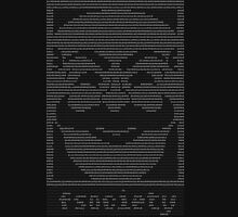 mr._robot_-_f.society.dat Unisex T-Shirt