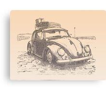 Bug at the bay Canvas Print
