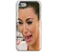 Kimmy K Tears iPhone Case/Skin