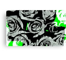 Daily Rose Art Canvas Print
