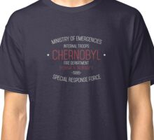 Chernobyl Containment Team Classic T-Shirt