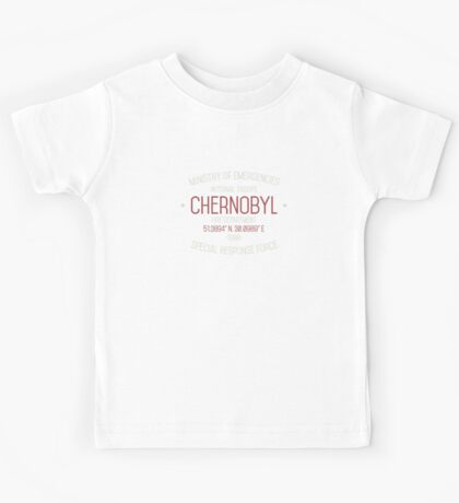 Chernobyl Containment Team Kids Tee